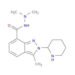 CN(NC(=O)c1cccc2c1nn(c2C)C1CCCCN1)C