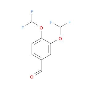 O=Cc1ccc(c(c1)OC(F)F)OC(F)F