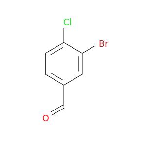 O=Cc1ccc(c(c1)Br)Cl