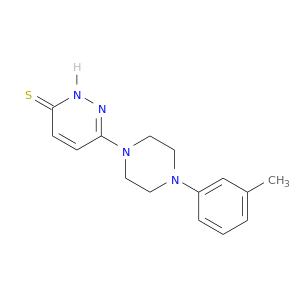 Cc1cccc(c1)N1CCN(CC1)c1ccc(=S)[nH]n1