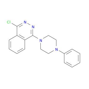 Clc1nnc(c2c1cccc2)N1CCN(CC1)c1ccccc1