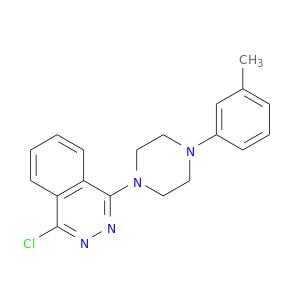 Cc1cccc(c1)N1CCN(CC1)c1nnc(c2c1cccc2)Cl