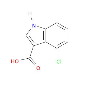 OC(=O)c1c[nH]c2c1c(Cl)ccc2
