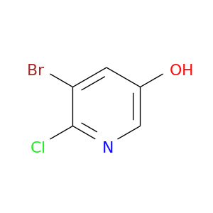 Oc1cnc(c(c1)Br)Cl