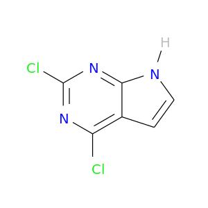 Clc1nc(Cl)c2c(n1)[nH]cc2