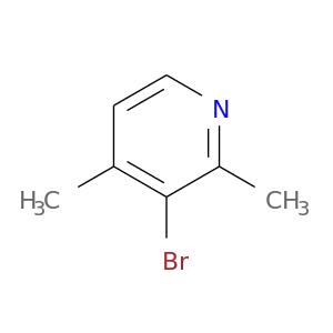 Brc1c(C)ccnc1C