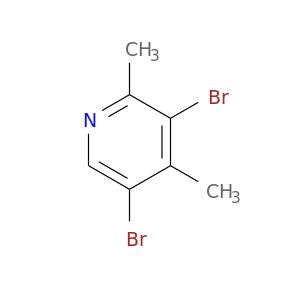 Brc1cnc(c(c1C)Br)C