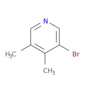 Cc1c(C)cncc1Br