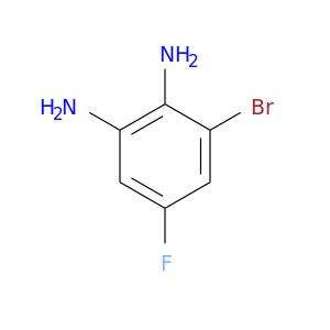 Fc1cc(N)c(c(c1)Br)N