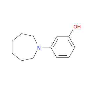 Oc1cccc(c1)N1CCCCCC1