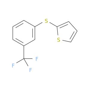 FC(c1cccc(c1)Sc1cccs1)(F)F