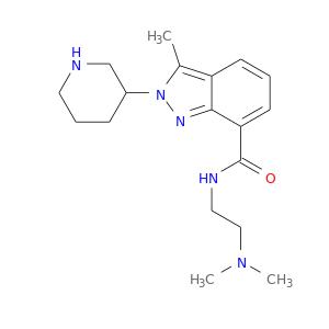 CN(CCNC(=O)c1cccc2c1nn(c2C)C1CCCNC1)C