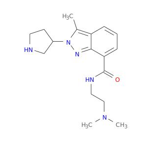CN(CCNC(=O)c1cccc2c1nn(c2C)C1CNCC1)C