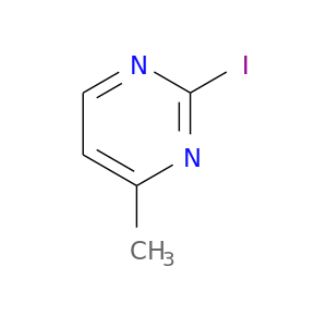 Cc1ccnc(n1)I