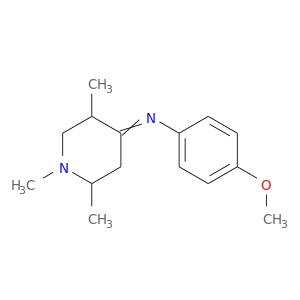 COc1ccc(cc1)N=C1CC(C)N(CC1C)C