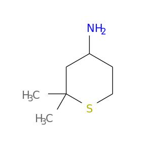 NC1CCSC(C1)(C)C