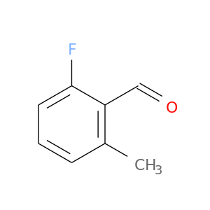 O=Cc1c(C)cccc1F