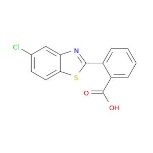 Clc1ccc2c(c1)nc(s2)c1ccccc1C(=O)O