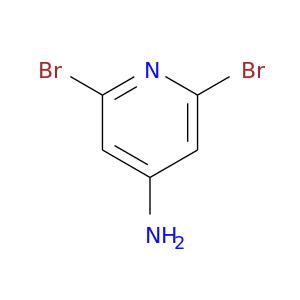 Nc1cc(Br)nc(c1)Br