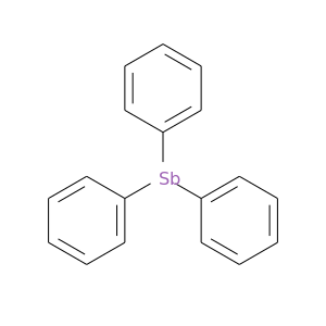 c1ccc(cc1)[Sb](c1ccccc1)c1ccccc1